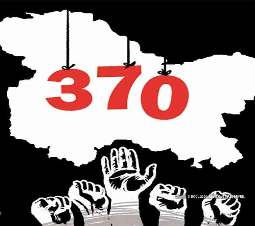 Article 370 and Jammu and Kashmir Reorganisation