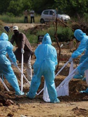 Healthcare workers, burial, COVID-19, coronavirus, dead bodies, disposal