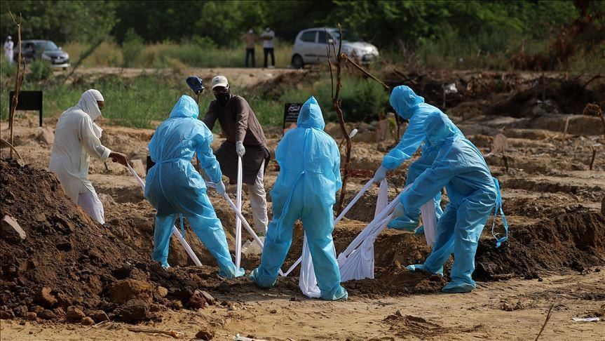Healthcare workers, burial, COVID-19, coronavirus, dead bodies, disposal
