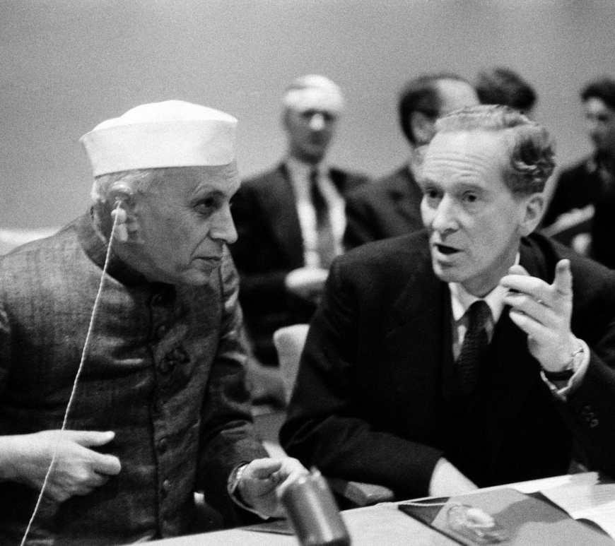 Nehru in UN on Kashmir